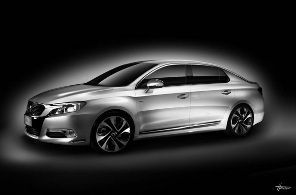 Citroen DS 5LS 2 600x396 at Citroen DS 5LS Revealed for China