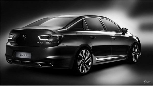 Citroen DS 5LS 4 600x340 at Citroen DS 5LS Revealed for China