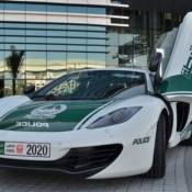 Dubai Police McLaren 12C 175x175 at Dubai Police McLaren 12C Comes Out to Play