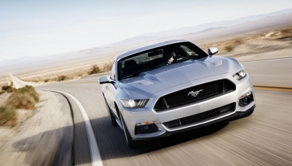 First 2015 Ford Mustang 600x343 at First 2015 Ford Mustang to be Auctioned for Charity