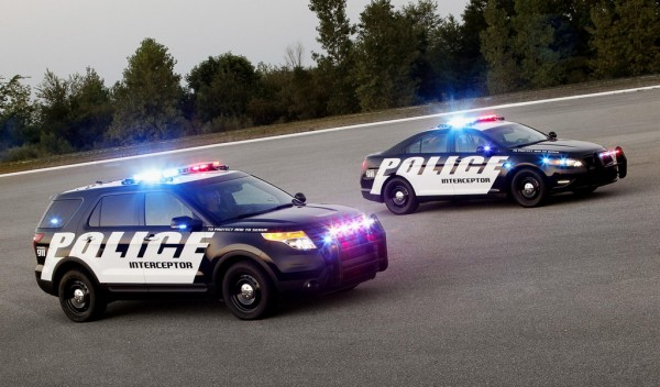 Ford Police Interceptors 600x352 at Ford Police Interceptors Ace LAPD Performance Tests