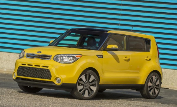 Kia Soul NHTSA 600x364 at 2014 Kia Soul Sails Through NHTSA Crash Tests