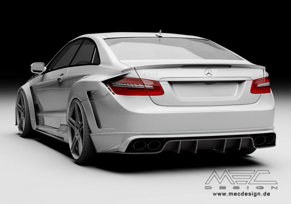 MEC Design Mercedes E Coupe top 600x420 at MEC Design Mercedes E Coupe Widebody Preview