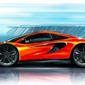 McLaren P13 sketch 175x175 at McLaren P13: Initial Details Revealed