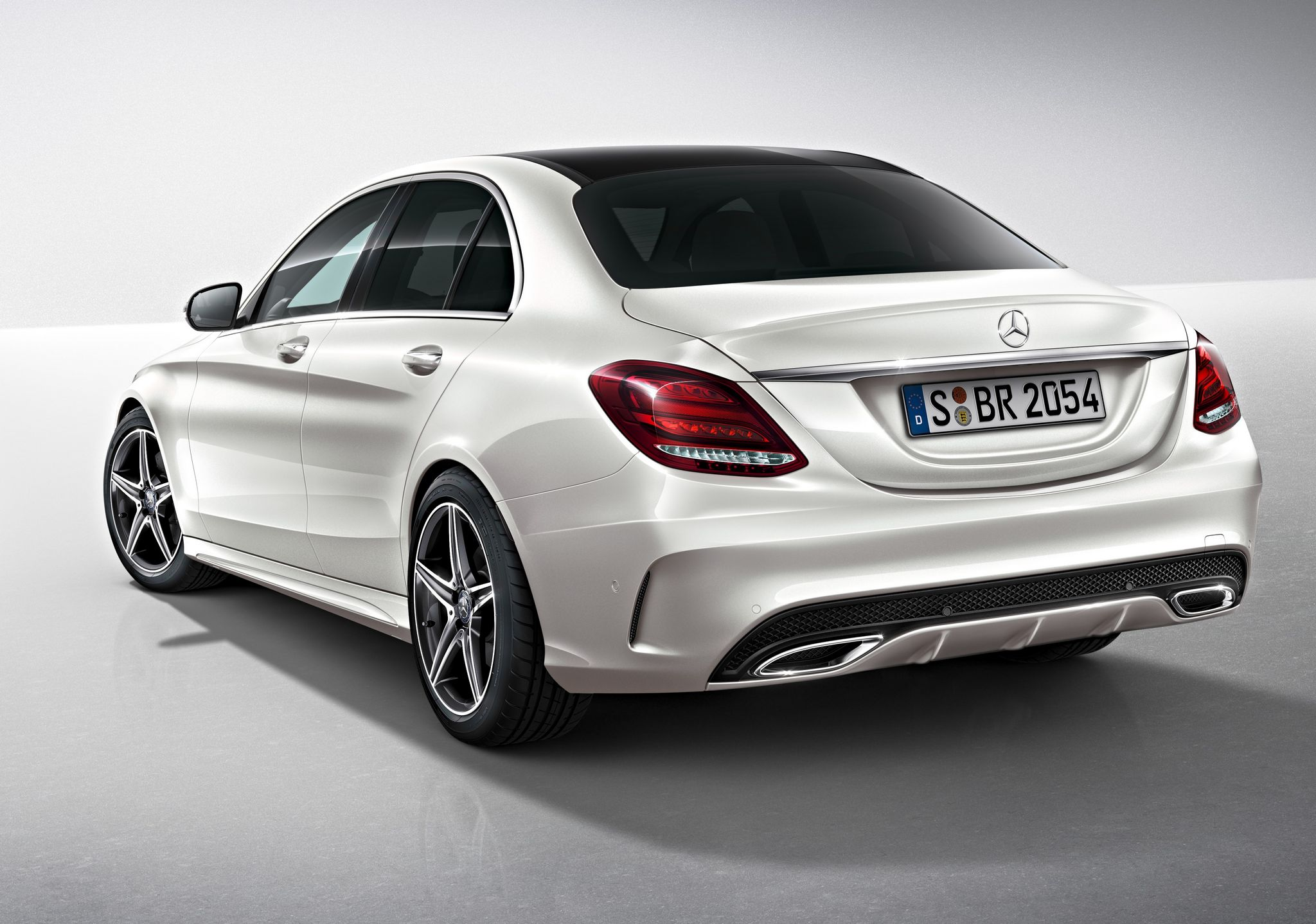 2015 mercedes c class amg line exterior pack for Mercedes benz 300 amg