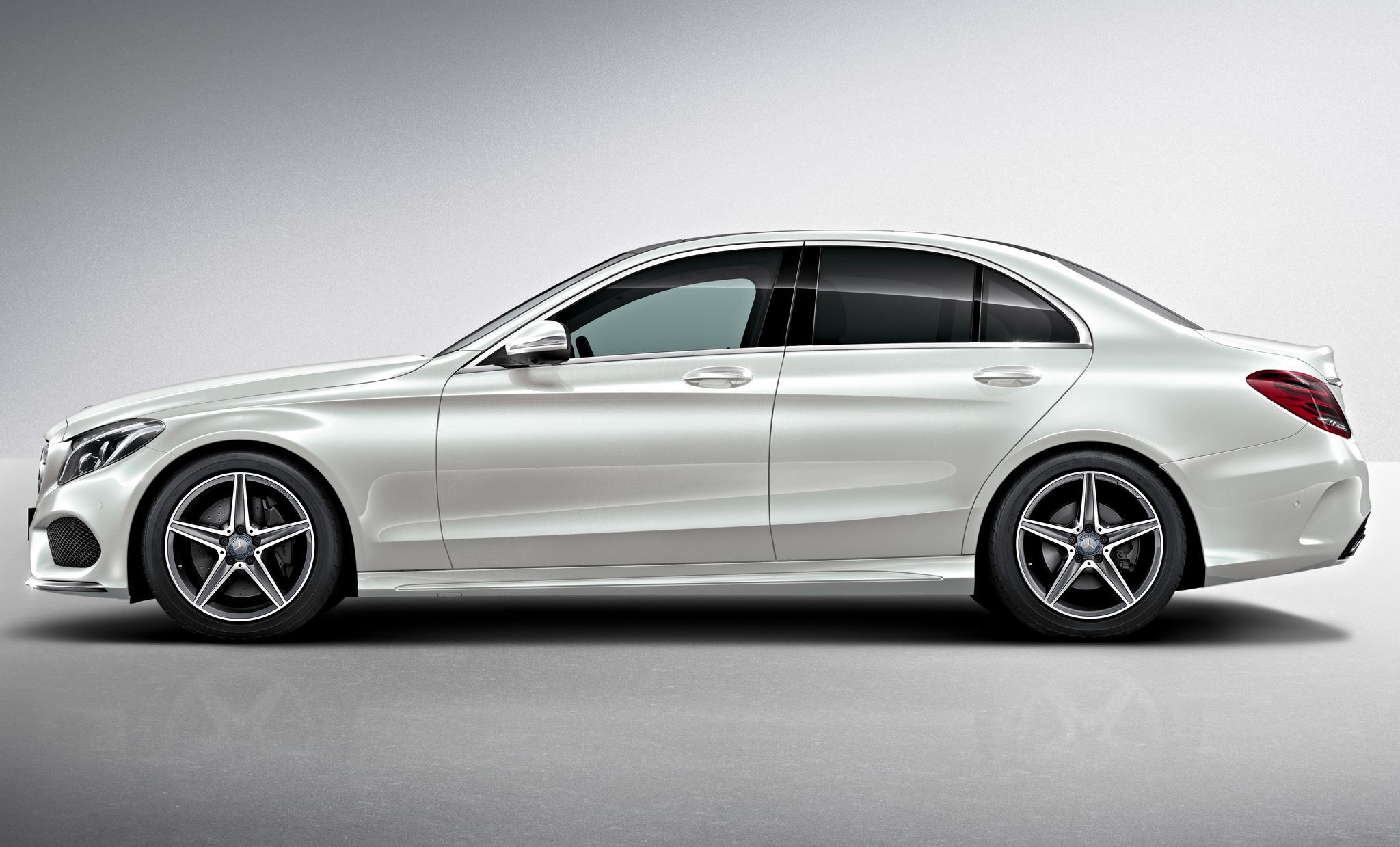 2015 mercedes c class amg line exterior pack. Black Bedroom Furniture Sets. Home Design Ideas