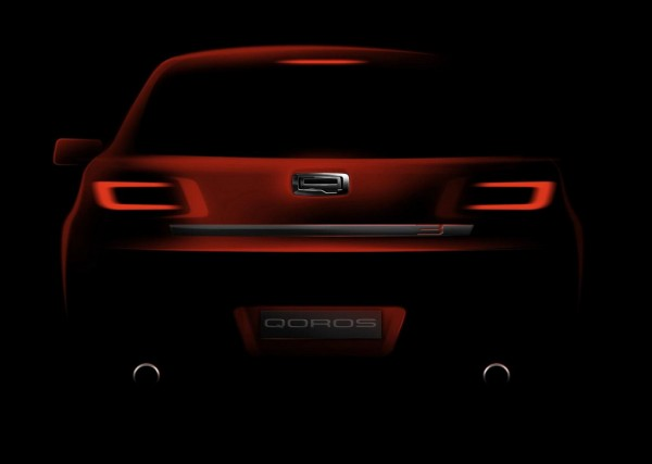 New Qoros Model 2 600x427 at New Qoros Model Teased for 2014 Geneva Motor Show