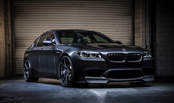 Vorsteiner BMW M5 0 600x357 at Vorsteiner BMW M5 Shown Off in New Gallery