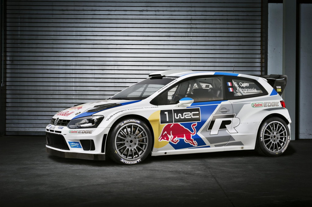 2014 polo r wrc revealed. Black Bedroom Furniture Sets. Home Design Ideas
