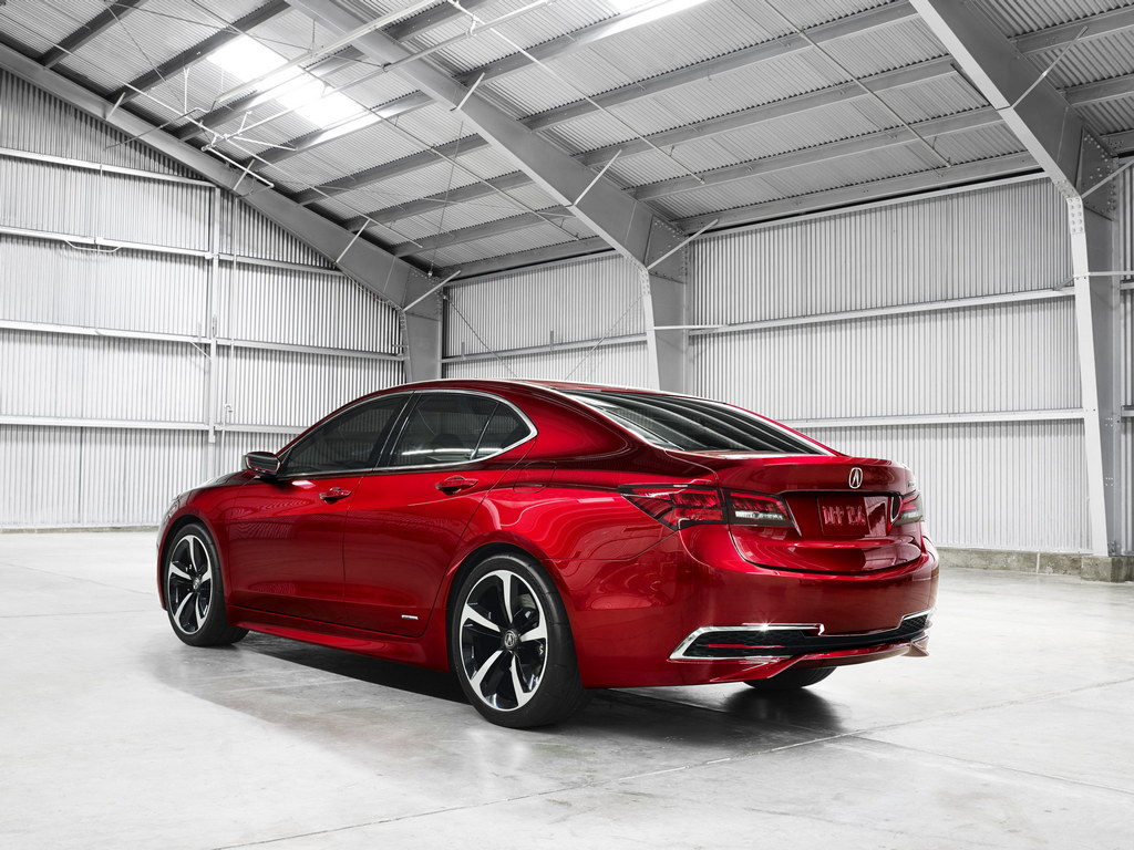 2015 acura tlx prototype naias 2014. Black Bedroom Furniture Sets. Home Design Ideas
