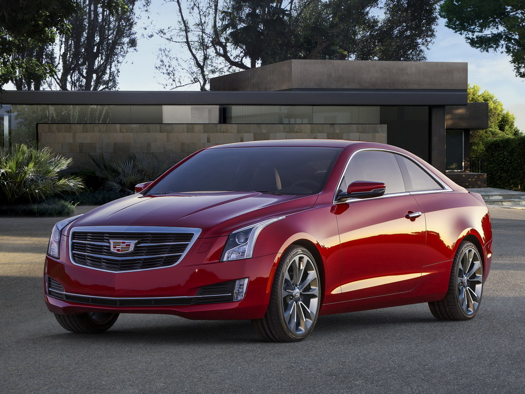 2015 cadillac ats coupe unveiled naias 2014. Black Bedroom Furniture Sets. Home Design Ideas