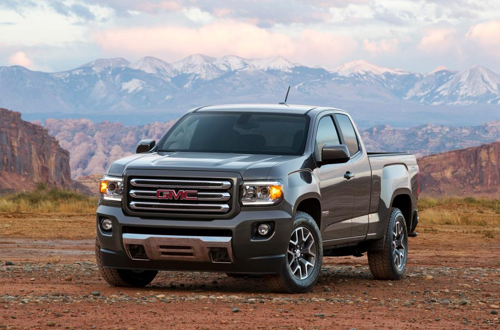 2015 GMC Canyon Officially Unveiled