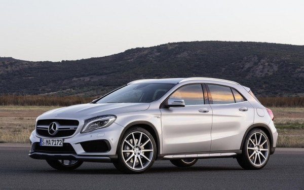 2015 Mercedes GLA45 AMG 0 600x375 at 2015 Mercedes GLA45 AMG Revealed Ahead of NAIAS