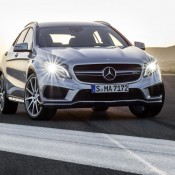 2015 Mercedes GLA45 AMG 2 175x175 at 2015 Mercedes GLA45 AMG Revealed Ahead of NAIAS