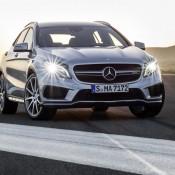 2015 Mercedes GLA45 AMG 2 175x175 at 2015 Mercedes GLA45 AMG Revealed Ahead of NAIAS