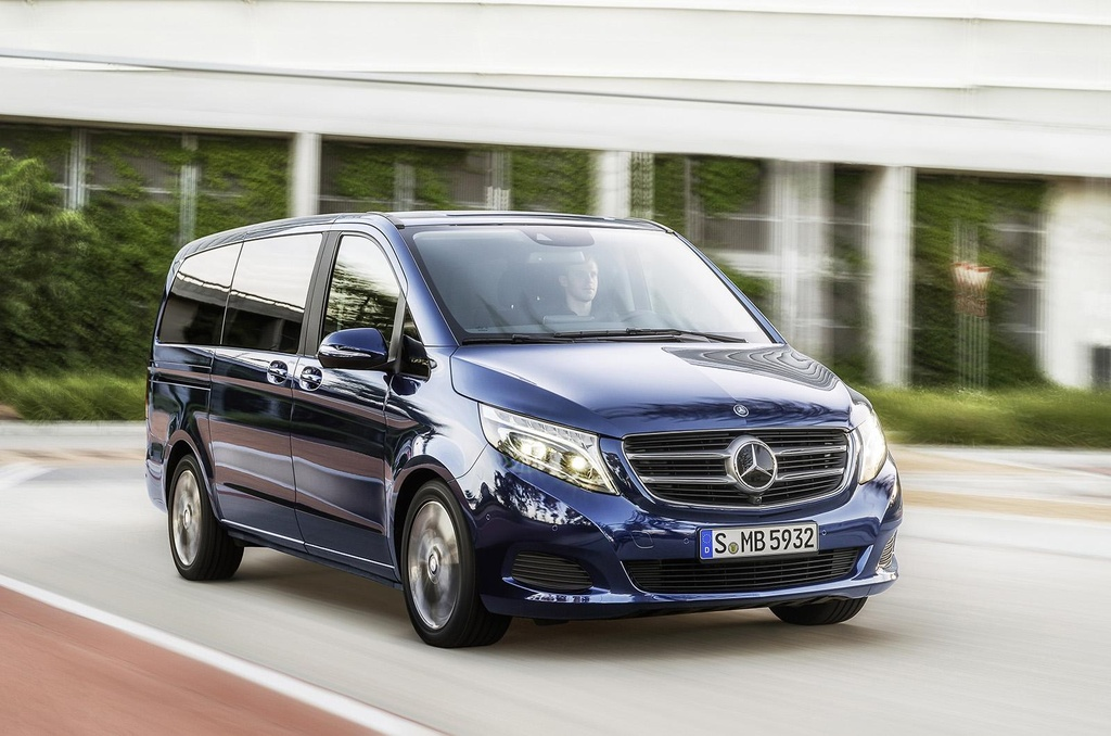 2015 mercedes v class officially unveiled. Black Bedroom Furniture Sets. Home Design Ideas