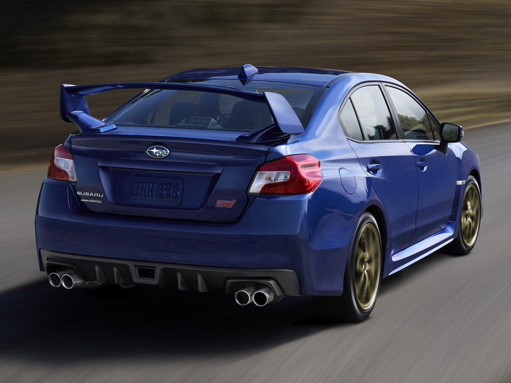 2015 subaru wrx sti unveiled naias 2014. Black Bedroom Furniture Sets. Home Design Ideas