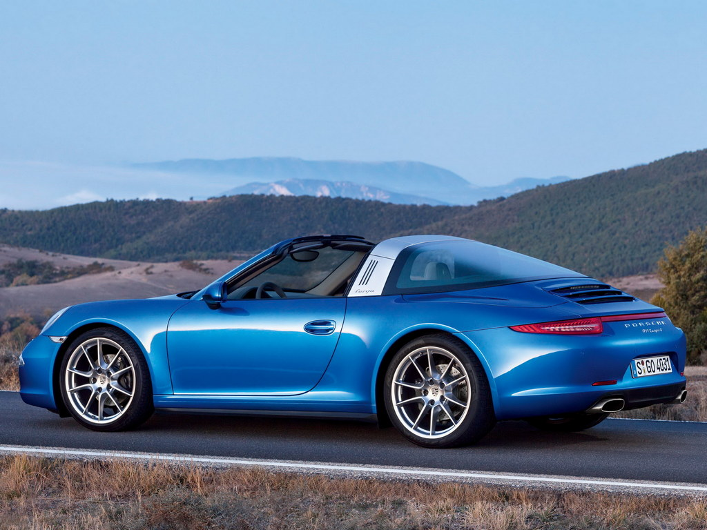 2015 porsche 911 targa unveiled naias 2014. Black Bedroom Furniture Sets. Home Design Ideas