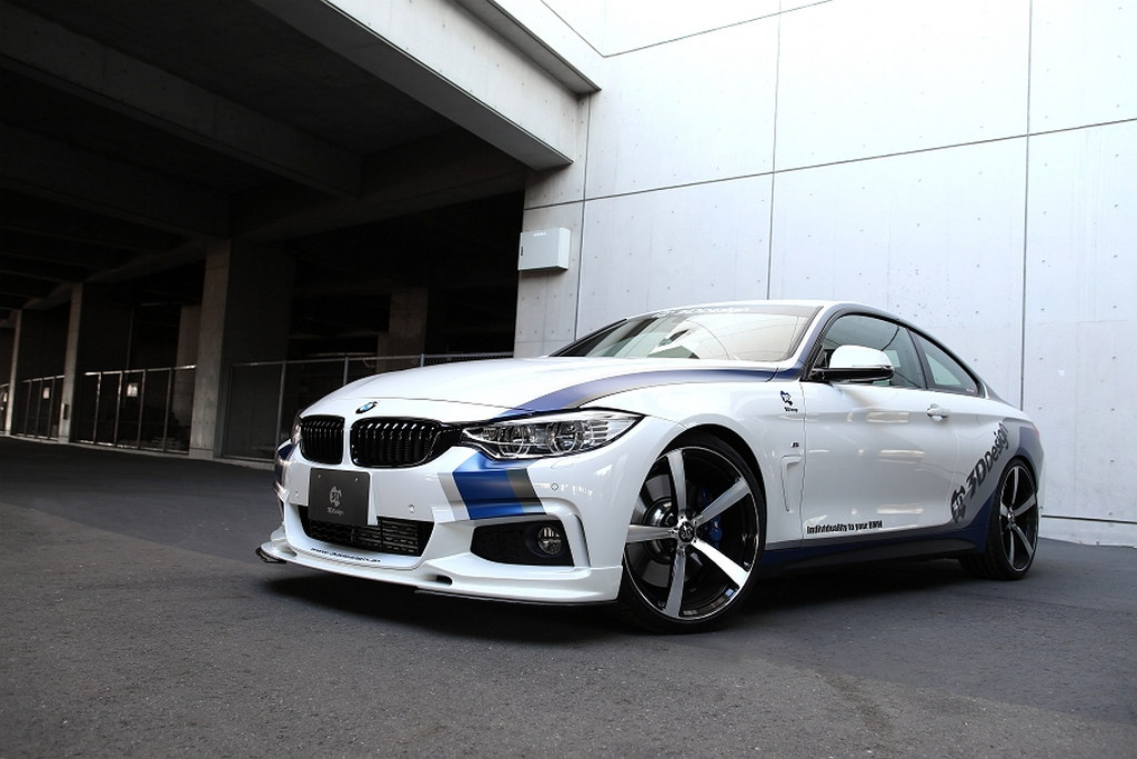 Bmw 4 Series Styling Kit By 3d Design