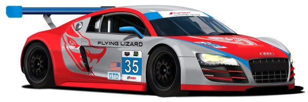 Audi R8 LMS GTD 2 600x200 at Audi R8 LMS GTD at 2014 Rolex 24 Hours of Daytona