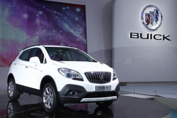 BuickEncoreChina 600x400 at Buick Sets All Time Sales Record in 2013: Over 1 Million Units