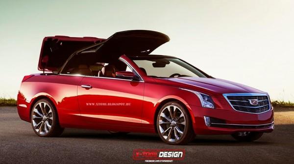 Rendering: Cadillac ATS Would Make a Nice Convertible
