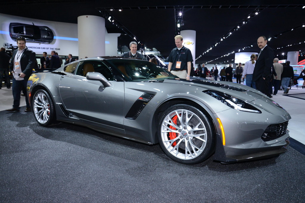 2015 Corvette Z06 In Cyber Gray