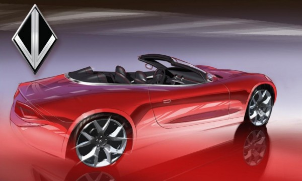 Destino V8 Convertible 0 600x360 at Fisker Based Destino V8 Convertible Headed for NAIAS