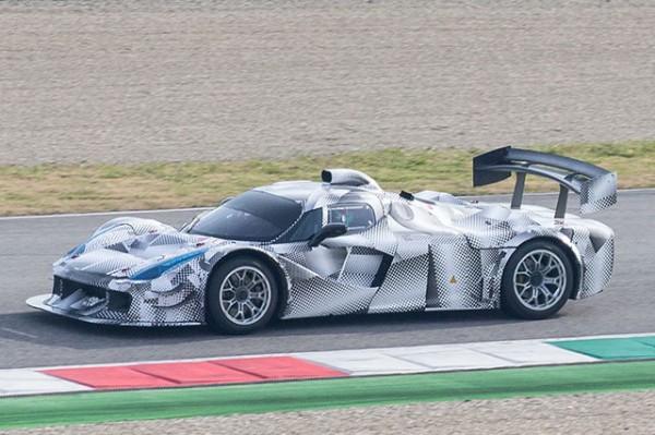 Ferrari Le Mans Prototype 1 600x399 at Ferrari Le Mans Prototype Spotted Testing at Fiorano