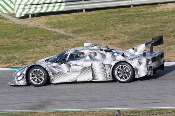 Ferrari Le Mans Prototype 2 600x399 at Ferrari Le Mans Prototype Spotted Testing at Fiorano