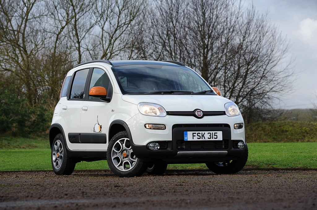 fiat panda 4x4 antarctica edition announced uk. Black Bedroom Furniture Sets. Home Design Ideas