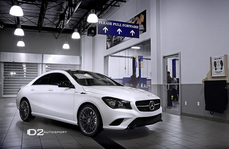 Mercedes Cla D2edition By D2 Autosport