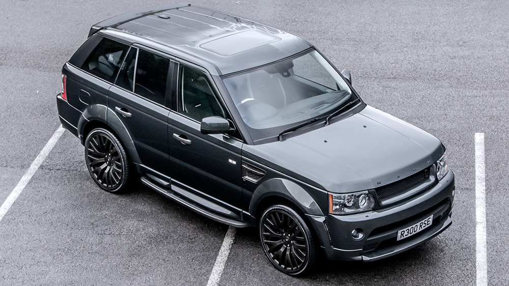 kahn design range rover sport rs300 cosworth edition. Black Bedroom Furniture Sets. Home Design Ideas