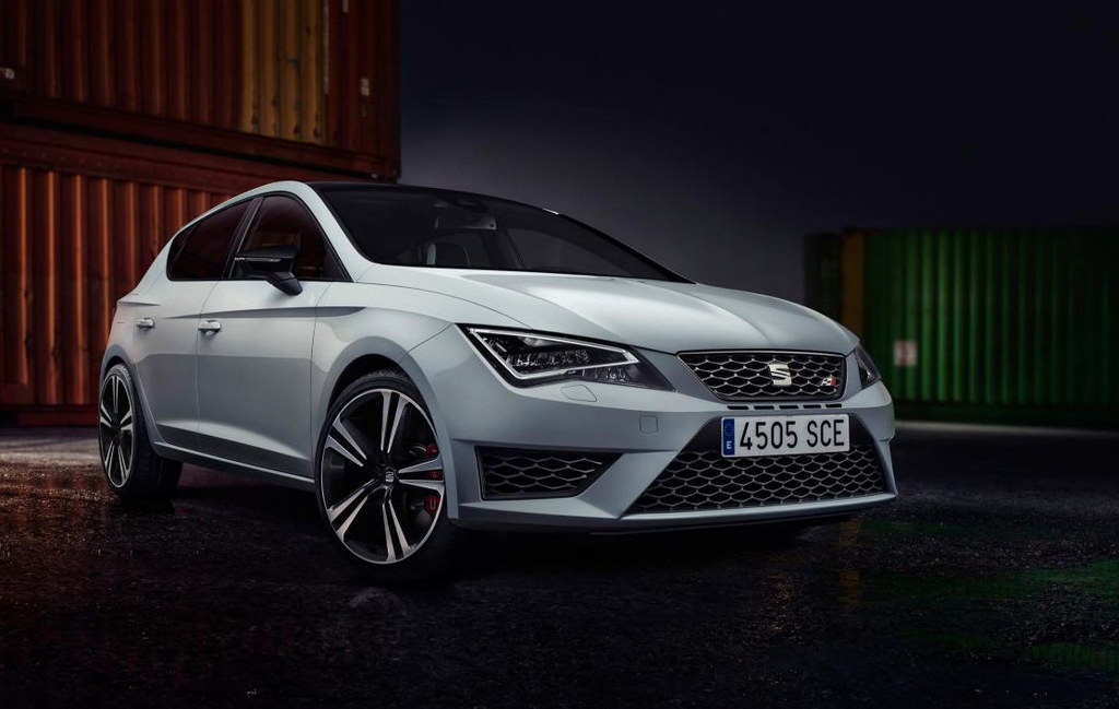 seat leon cupra and cupra 280 unveiled. Black Bedroom Furniture Sets. Home Design Ideas