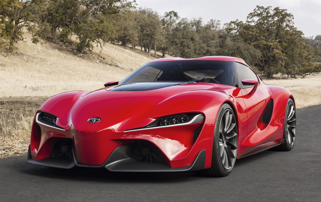 New Toyota Concept Sports Car New Toyota Sports Car Were