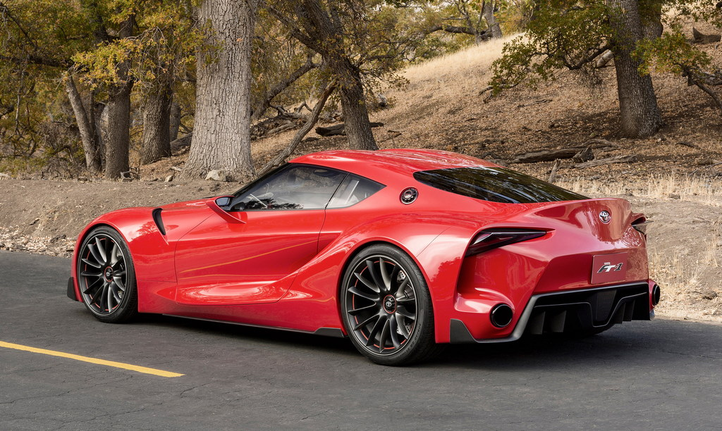 Toyota FT-1 Concept Previews Future Supra: NAIAS 2014