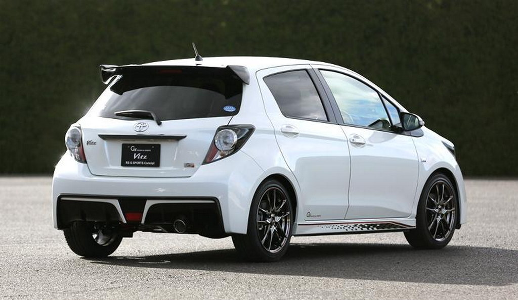 Toyota Vitz Rs G Sports Debuts At Tokyo Auto Salon