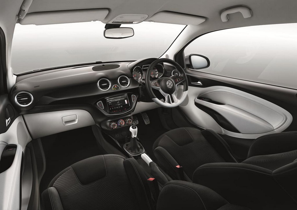 vauxhall adam black and white edition announced. Black Bedroom Furniture Sets. Home Design Ideas