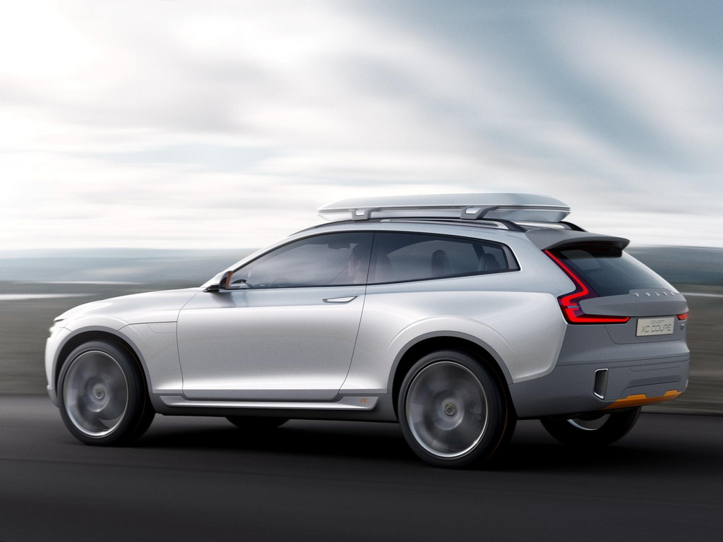 Volvo XC Coupe Concept Unveiled Ahead of NAIAS Debut