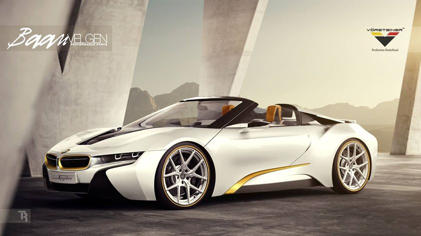 Vorsteiner Previews Bmw I8 Spyder Upgrade Kit