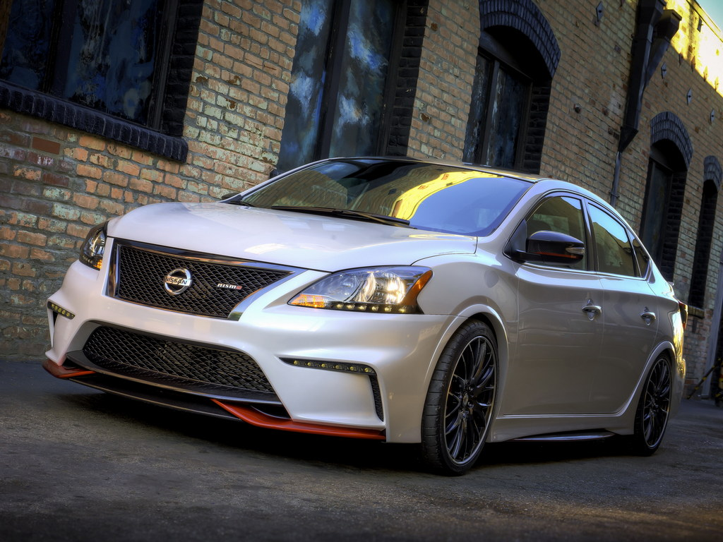 nissan sentra nismo officially unveiled naias 2014. Black Bedroom Furniture Sets. Home Design Ideas