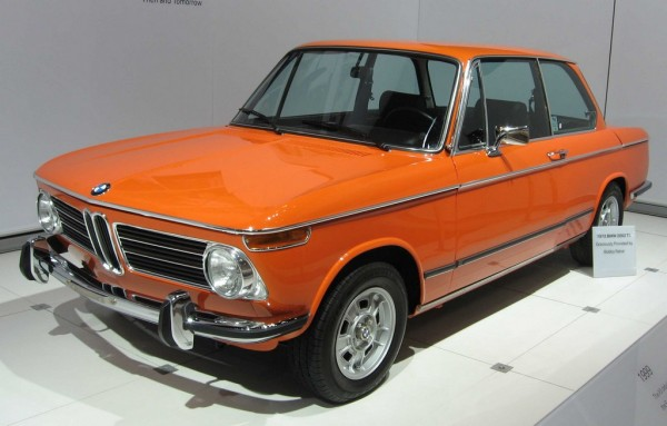 """1972 BMW 2002 600x383 at 40 Years of BMW """"M"""" History"""