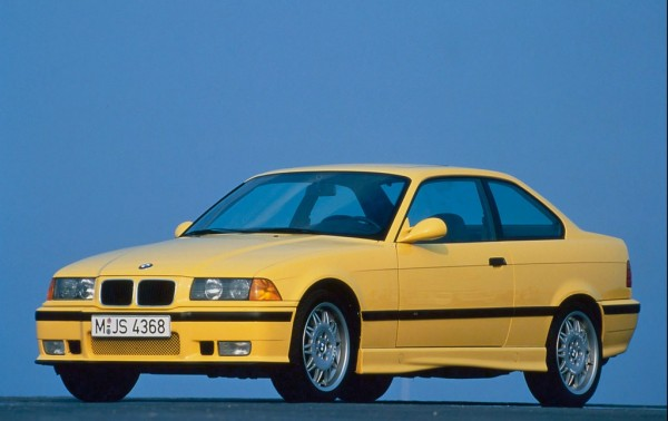 """1992 M3 E36 600x378 at 40 Years of BMW """"M"""" History"""