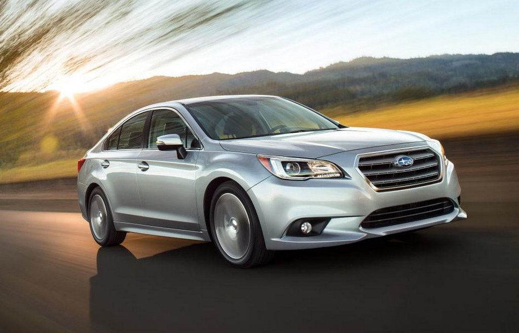 2015 Subaru Legacy Officially Unveiled at Chicago - Motorward