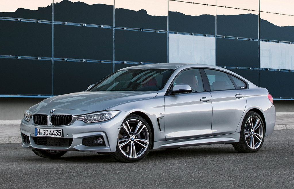 Bmw 4 Series Gran Coupe Officially Unveiled