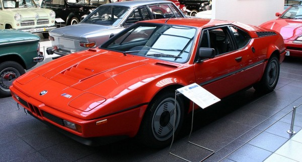 """BMW M1 600x321 at 40 Years of BMW """"M"""" History"""