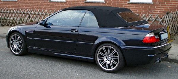 """BMW M3 E46 Cabrio 600x267 at 40 Years of BMW """"M"""" History"""