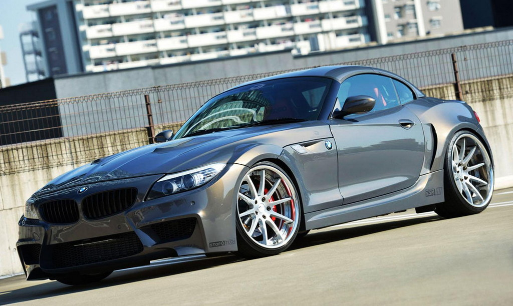 Wide Body Bmw Z4 By Duke Dynamics