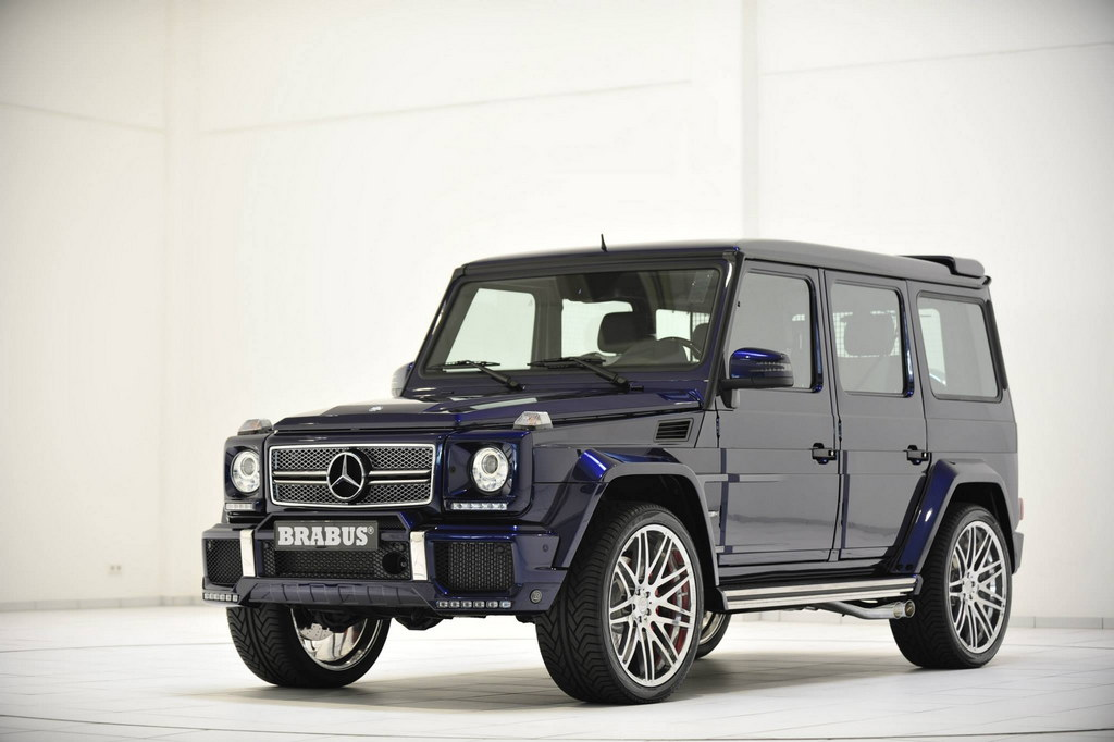 mercedes benz g63 brabus - photo #26
