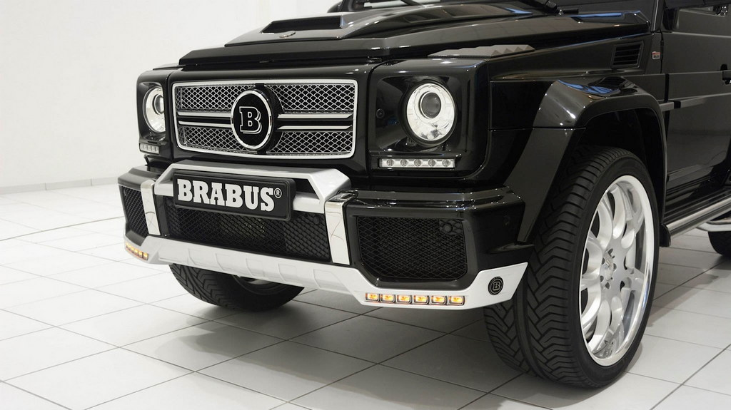 Brabus Mercedes G500 SWB Widestar Revealed - Motorward